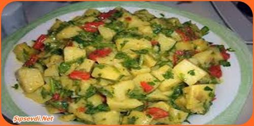 patatesli salata tarifi